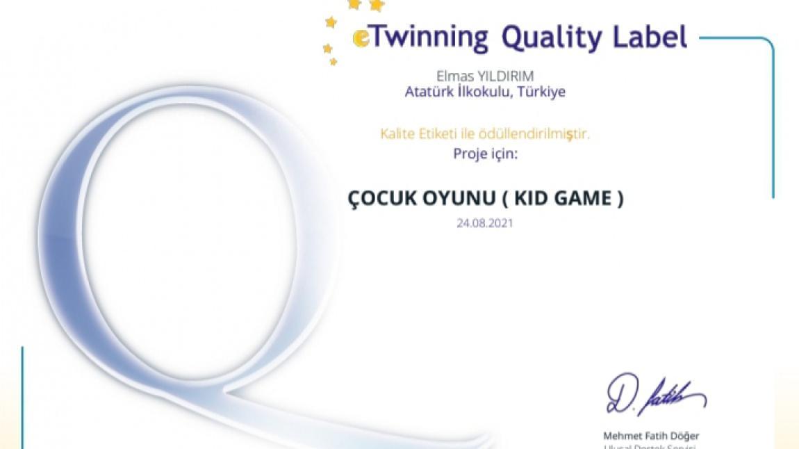 e Twinnig Projesi (Çocuk Oyunu)
